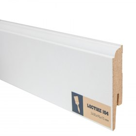 Плинтус Loctike 104 90x15